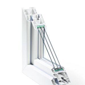 Le système de profilés pour fenêtres en PVC Rehau SYNEGO