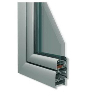 Systèmes de menuiserie aluminium ALUMIL pour termopagne