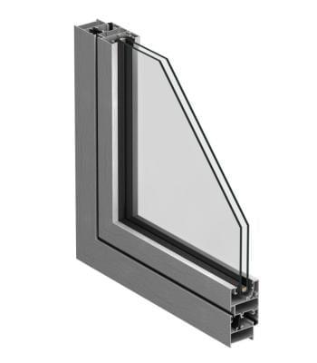 Systeme des portes et fenêtres en alu pas cher Cortizo 2300