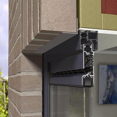 Grilles de ventilation a rateurs r glables qfenster - Grille ventilation hygroreglable ...