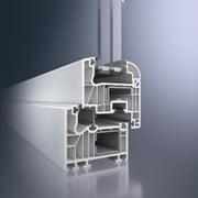 Le système de fenetre PVC Schüco Alu Inside, à trois joints d'étanchéité et technologie brevetée de connexion de l'aluminium